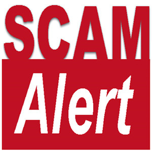 NEWSFLASH: SCAM ALERT