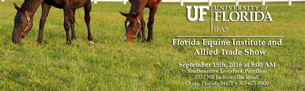 The Equine Institute and Allied Trade Show Is Coming!
