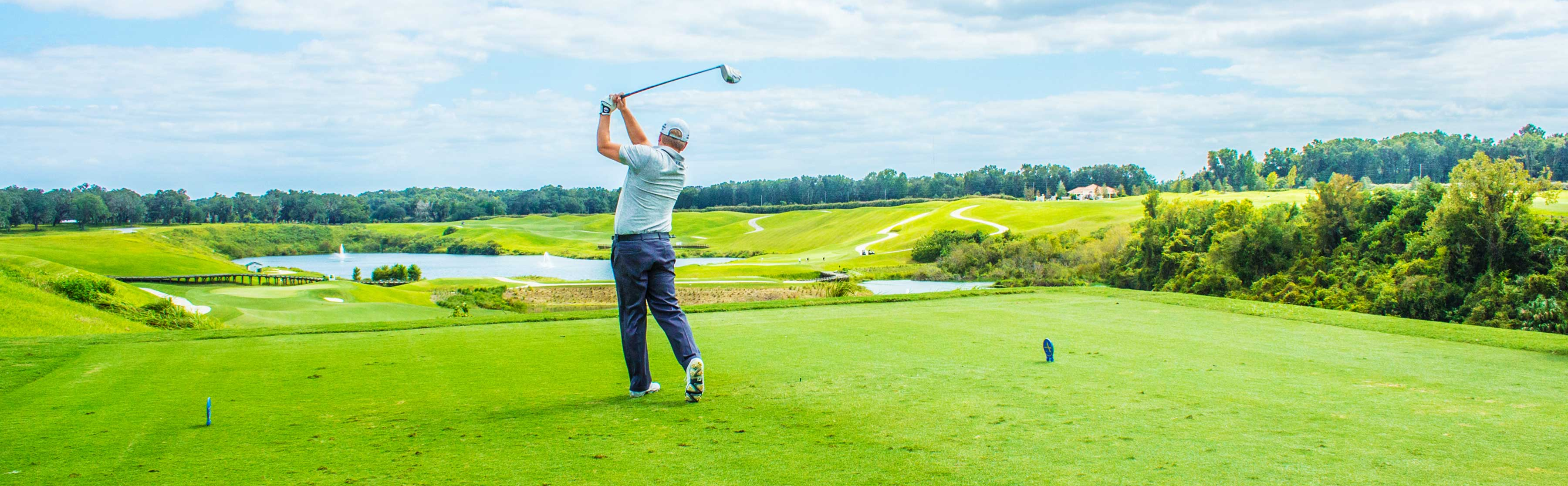 Ocala's Adena Golf Course is the pinnacle of luxury golfing.