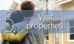 Step 5: Visit properties.