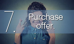 Step 7: Purchase offer.