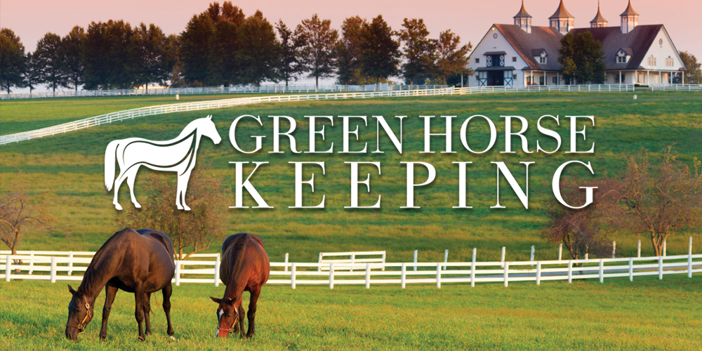 Green Horse Keeping Part 4: Facilities