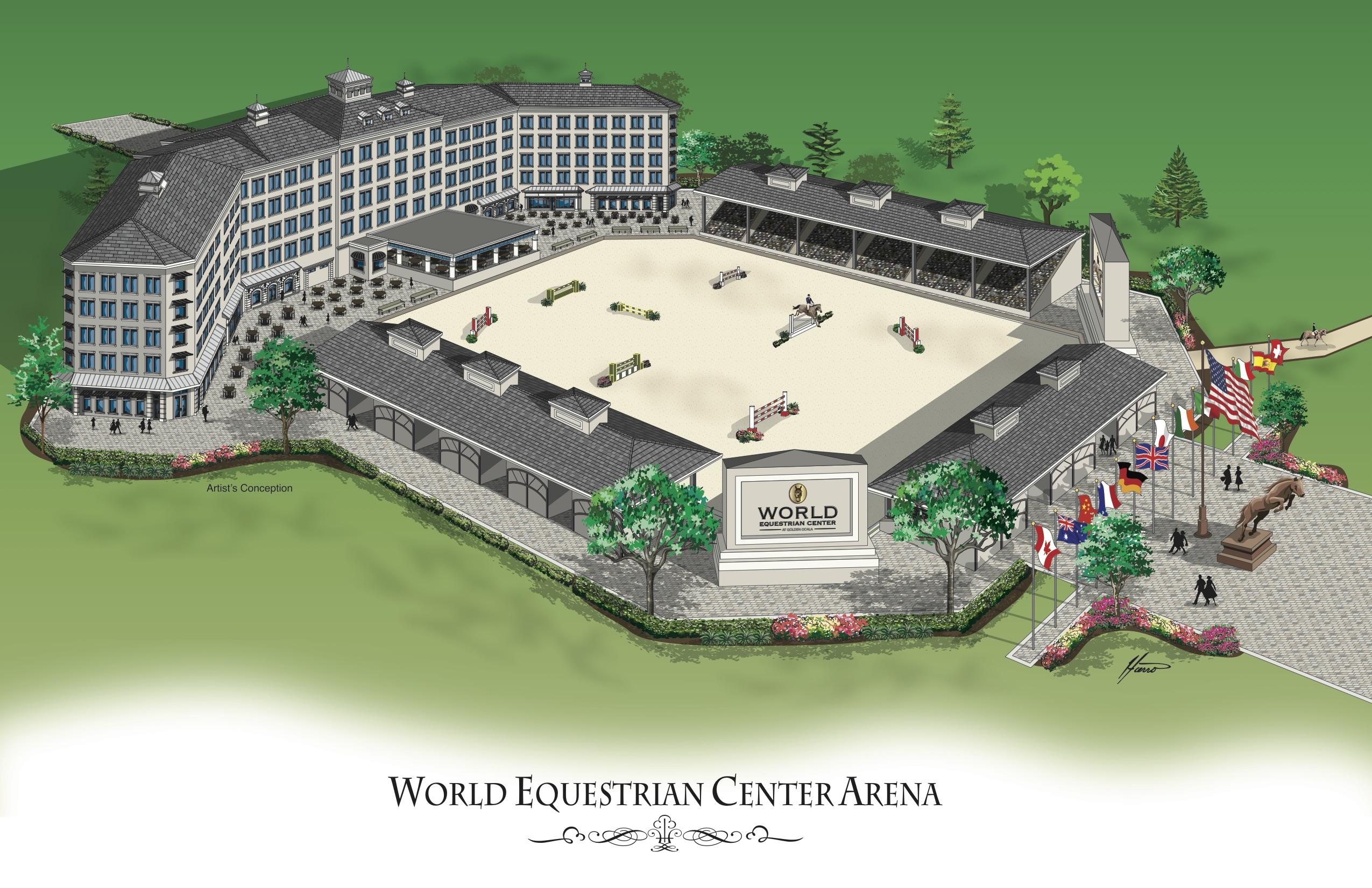 The World Equestrian Center A Look Ahead
