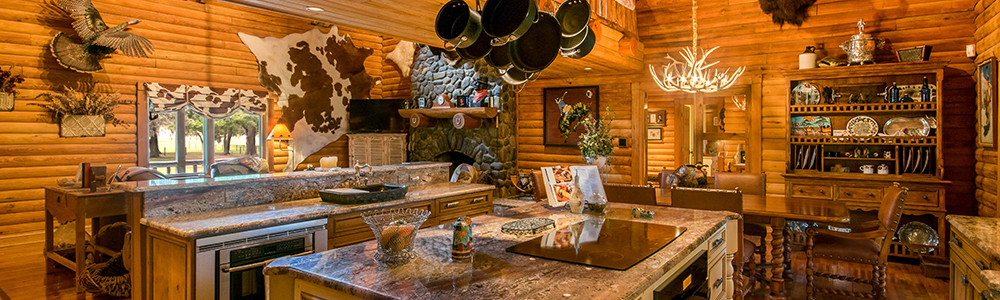 Rustic and Luxurious | Central Florida's Log Cabin Homes