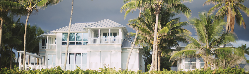 Your house protects you from the dangers of a hurricane, so begin with your best foot forward.