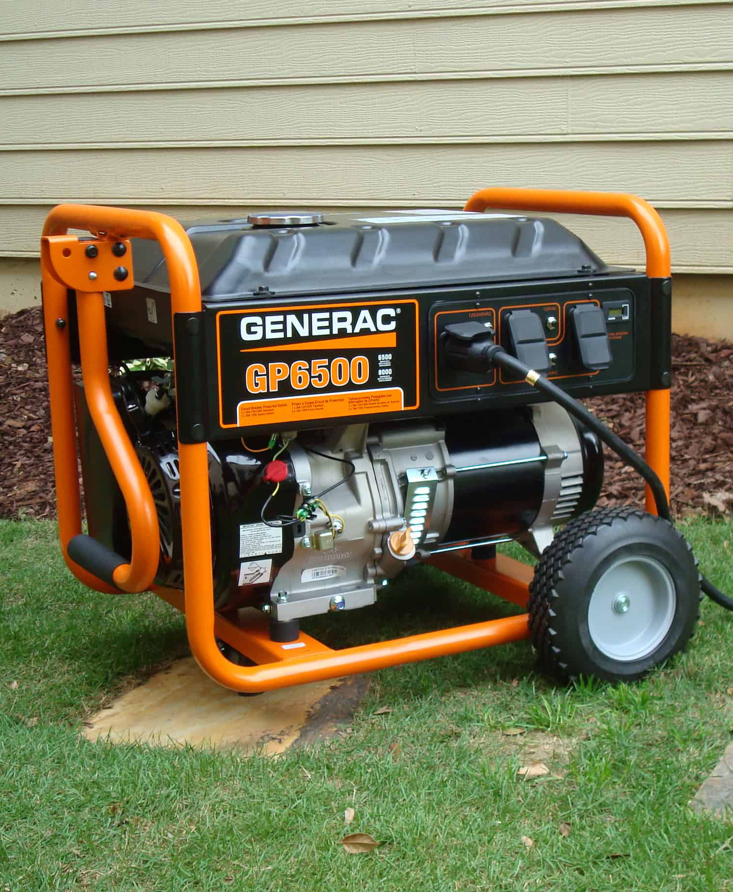 A generator, ready for use