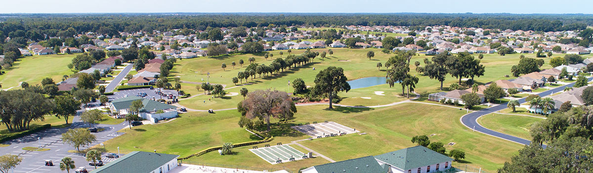 An aerial view of Ocala Palms