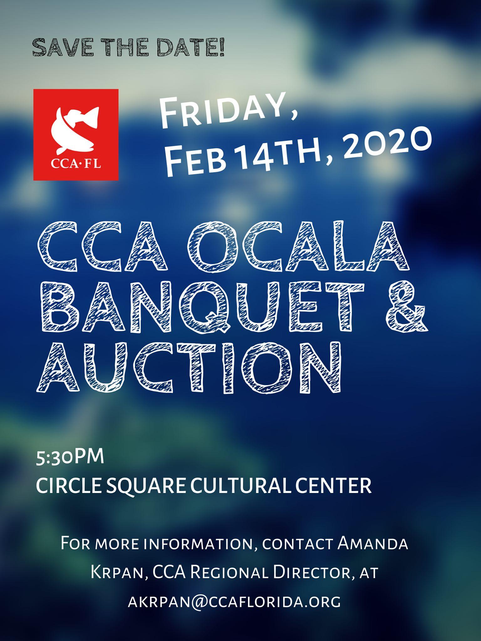 CCA Ocala Banquet & Auction, Feb. 14th, 2020