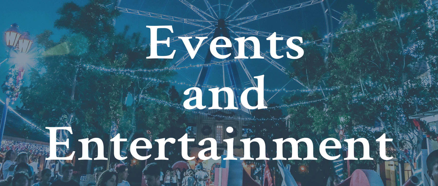 Click for event and entertainment