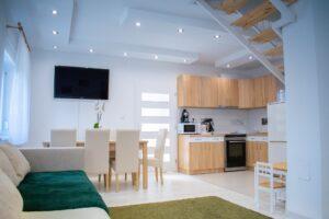 A bright modern home.
