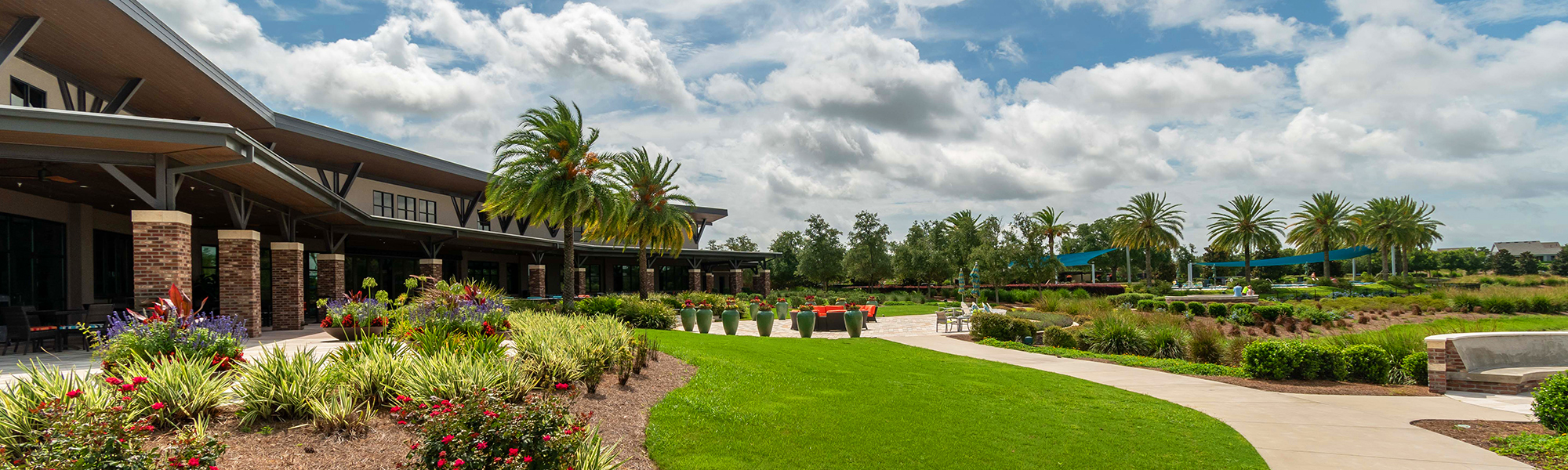 The beautiful clubhouse at Ocala Preserve.