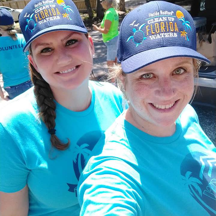 Lovely smiling volunteers