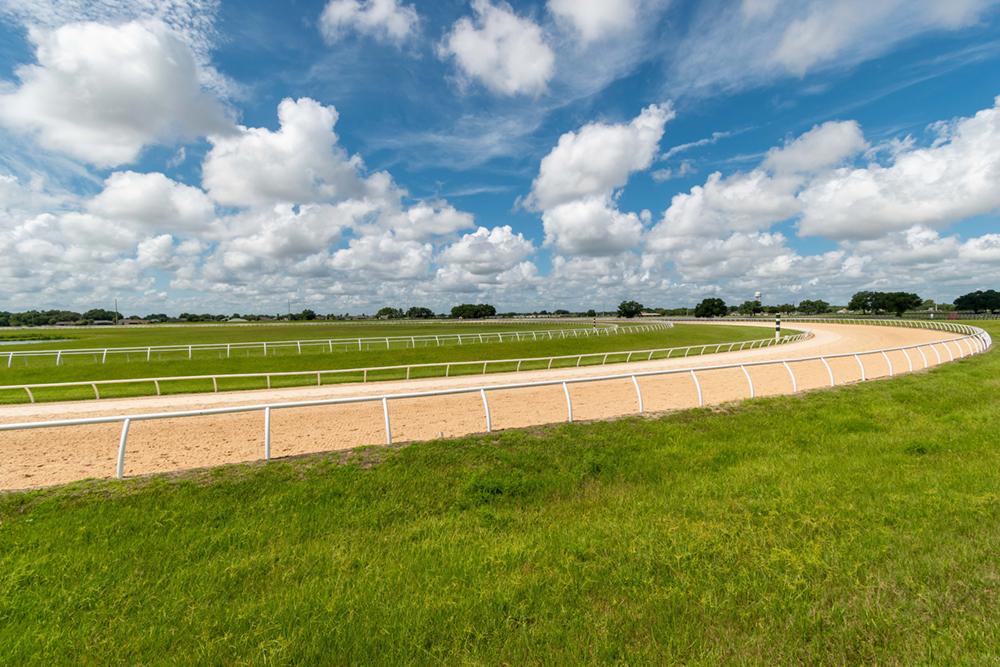 A view of the track at Sequel at Winding Oaks Farm